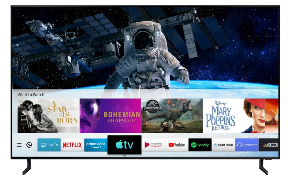Samsung Apple TV Airplay 2 La nouvelle application TV dApple et AirPlay 2 sont disponibles sur les TV Samsung