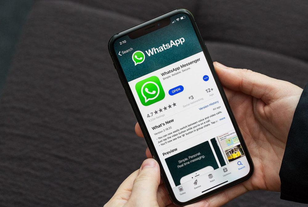 WhatsApp iPhone X App Store 1000x673 WhatsApp serait en train de préparer une version autonome pour iPad et pour Mac