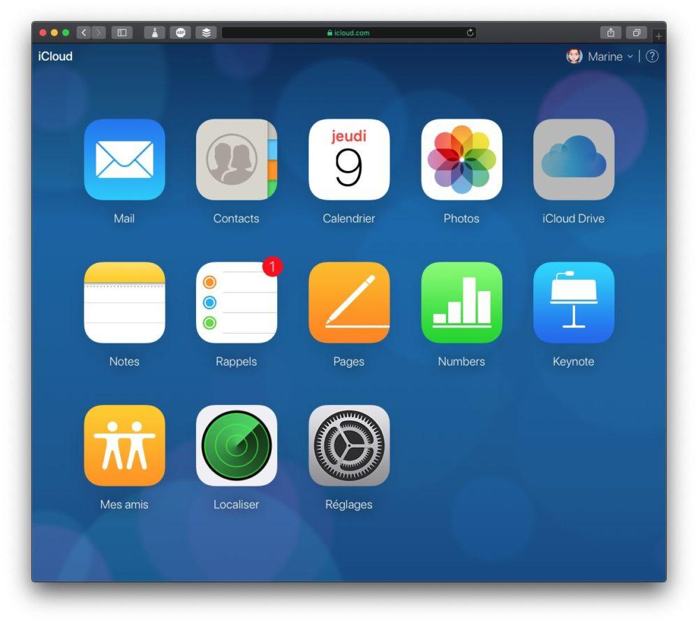 accueil icloud Comment récupérer des fichiers iCloud supprimés