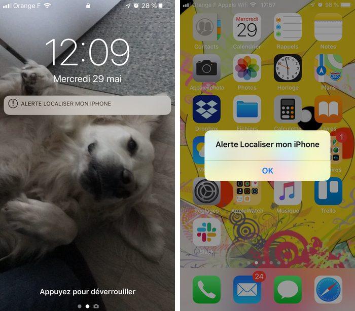 alerte localiser iphone Comment configurer et utiliser Localiser mon iPhone