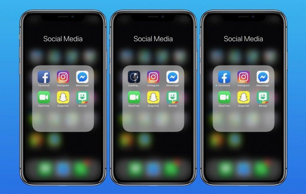 Facebook modifie légèrement licône de son application sur iOS