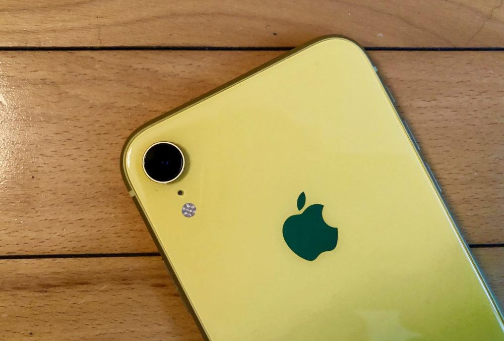 iPhone XR Camera Dos Jaune 1000x676 Chine : la demande des iPhone resterait élevée malgré la guerre commerciale avec les États Unis