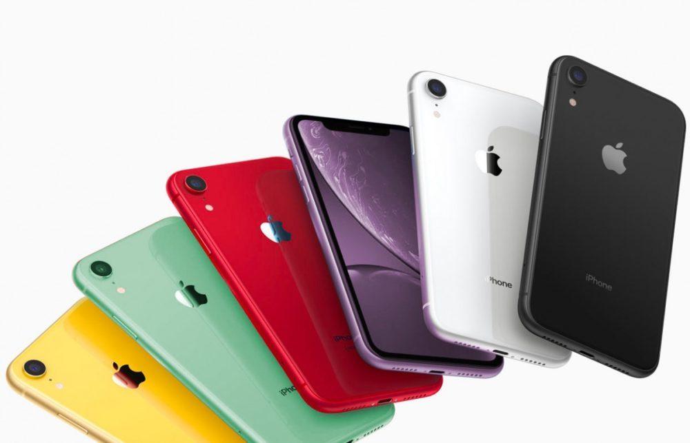 iPhone XR Couleurs 2019 1000x643 Des rendus montrent les iPhone XR 2019 vert et lavande