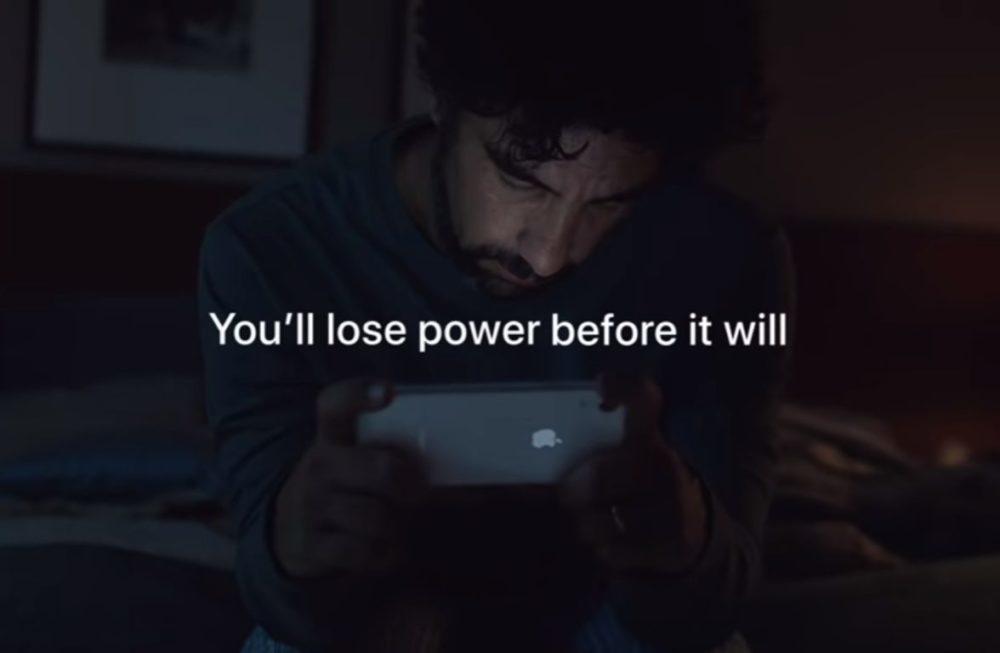 iPhone XR Pub Autonomie 1000x653 Apple vante lautonomie de la batterie de liPhone XR et le cryptage diMessage dans 2 vidéos