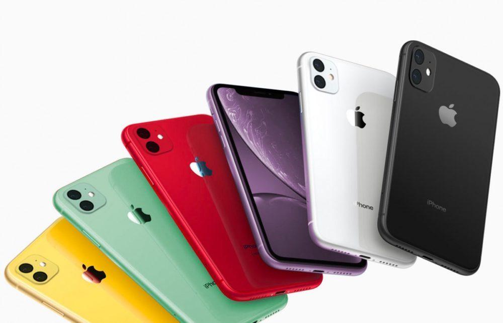 iPhone XR couleurs 2019 2 Capteurs Photo 1000x643 Des rendus montrent les iPhone XR 2019 vert et lavande