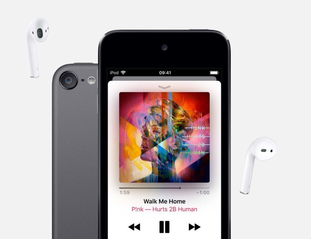 iPod Touch 2019 1 1000x768 Apple lance un nouvel iPod touch : puce A10 Fusion, jusquà 256 Go de stockage et 6 coloris
