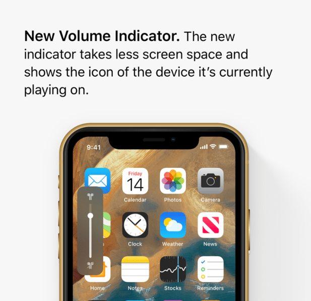 ios 13 concept volume Un concept iOS 13 permet de visualiser les fonctionnalités quApple dévoilerait à la WWDC