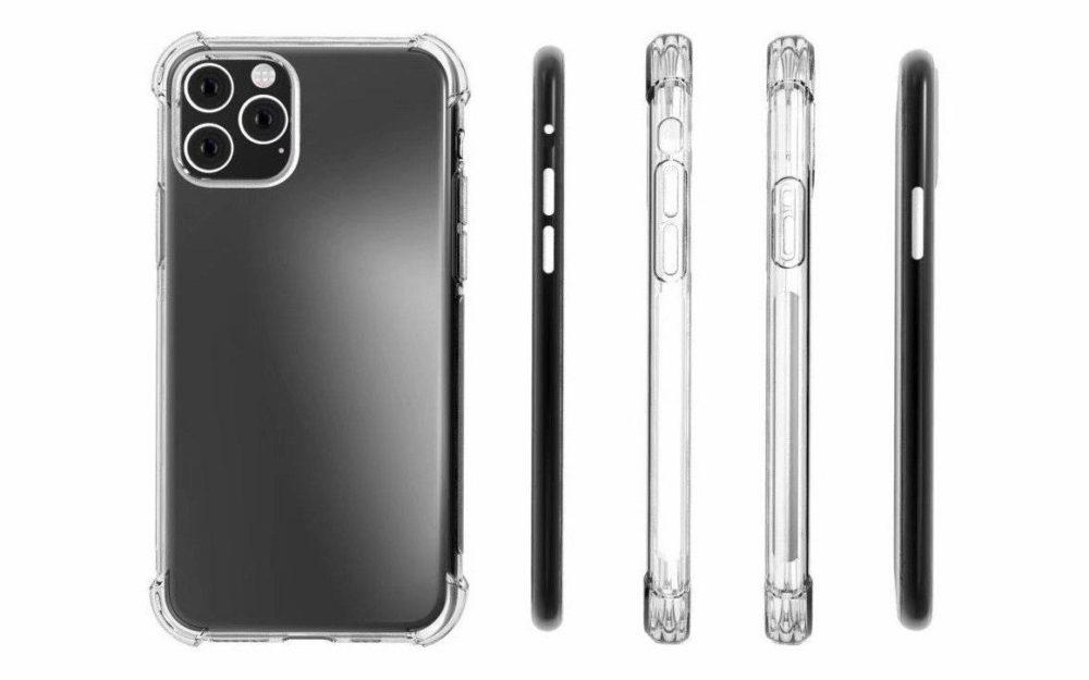 iphone 11 coques 1000x625 Des coques de protection confirment le module photo carré de liPhone 11
