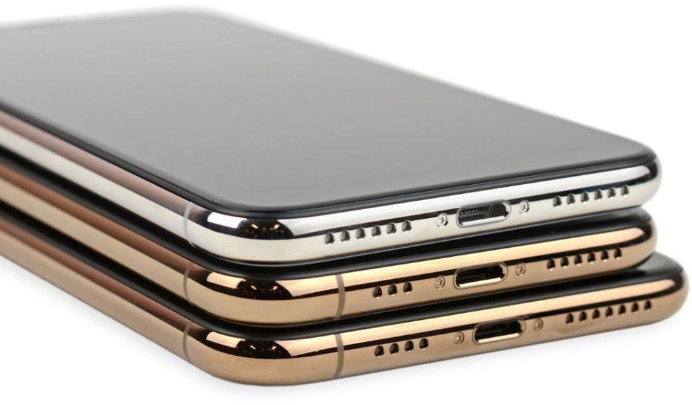 iphone x xs xs max 1000x585 Les iPhone de 2019 auront de nouvelles antennes pour une meilleure réception réseau