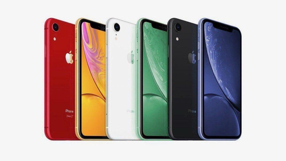 Des rendus montrent les iPhone XR 2019 vert et lavande