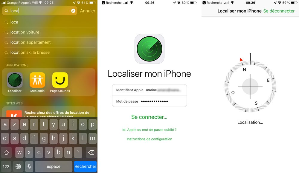 localiser app iphone Comment configurer et utiliser Localiser mon iPhone