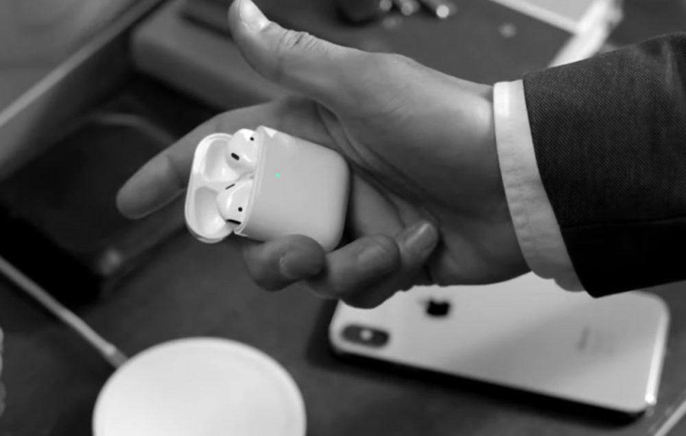AirPods 2eme Generation Publicite 1000x636 Apple partage une nouvelle vidéo pour vanter les AirPods et la recharge sans fil