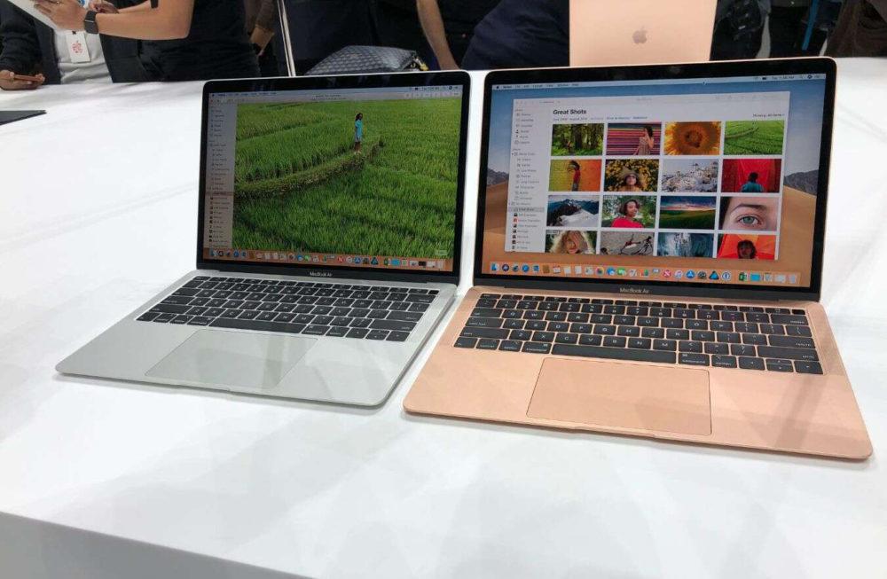 Apple MacBook Air 2018 1000x653 MacBook : de nouveaux modèles retrouvés dans la base de données de lEurasian Economic Commission