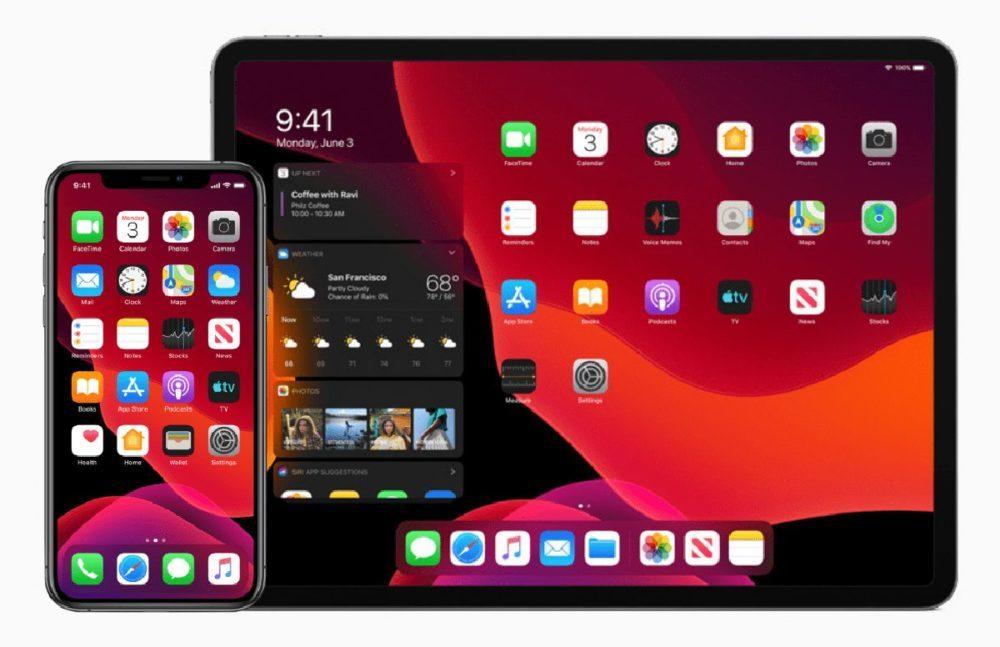 Apple iOS 13 iPadOS 13 1000x647 iOS 13.1 bêta 1 est disponible au téléchargement