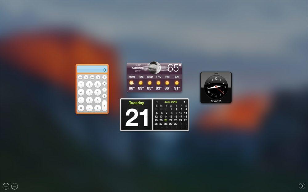 Dashboard Mac 1000x625 macOS Catalina 10.15 : Apple va abandonner le Dashboard sur Mac