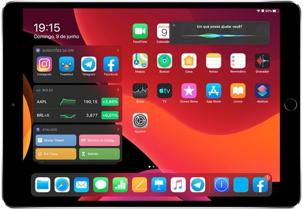 Futur Siri iPadOS 1000x692 Siri sur iPad pourrait occuper quune partie de lécran quand on linvoque, Apple a dit un mot sur le sujet