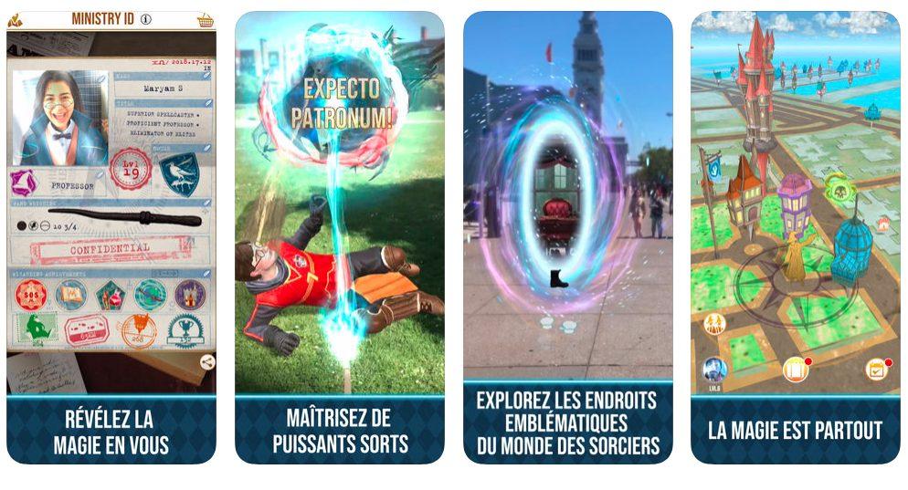 Harry Potter Wizards Unite Niantic Le jeu Harry Potter : Wizards Unite est disponible en France sur iOS et Android
