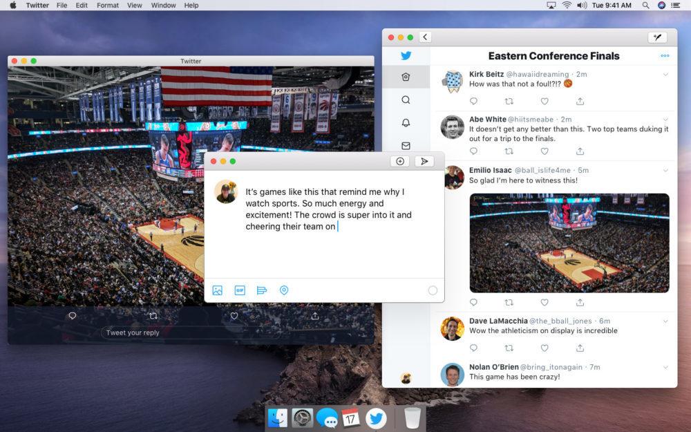 Nouvelle App Twitte Pour Mac Catalyst 1000x625 Twitter lève le voile sur un premier aperçu de sa nouvelle application sur Mac