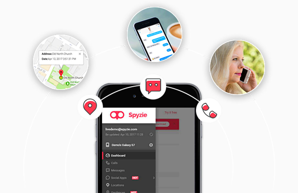 Spyzie Spyzie : mobile tracker et localiser un iPhone perdu