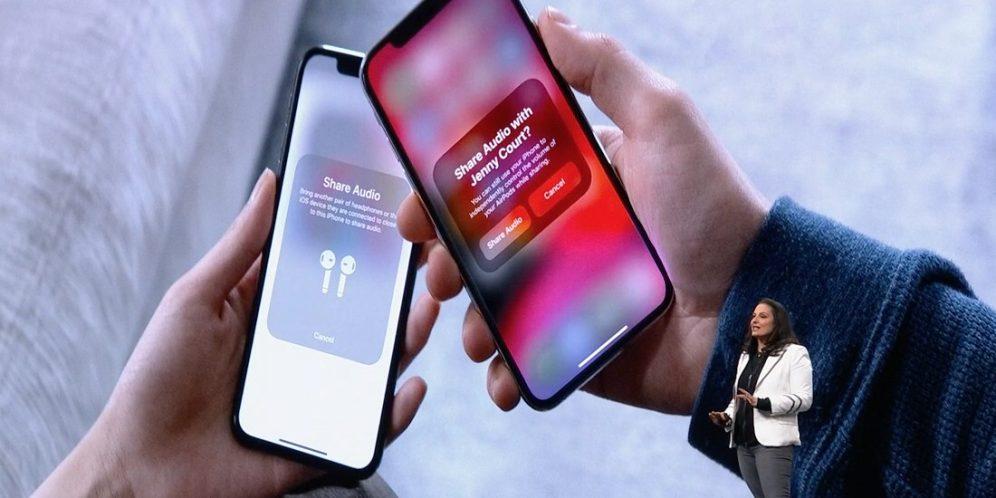 airpods partage musique ios 13 WWDC 2019 : iOS 13 avec le mode sombre et plus encore