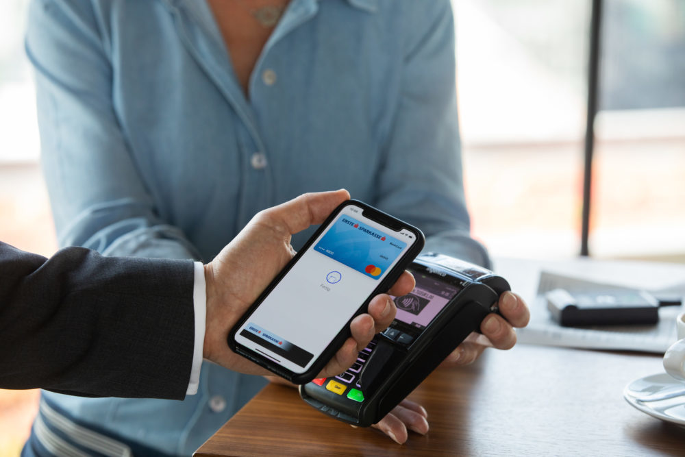 apple pay apple 1000x667 La néobanque Vybe est désormais compatible avec Apple Pay