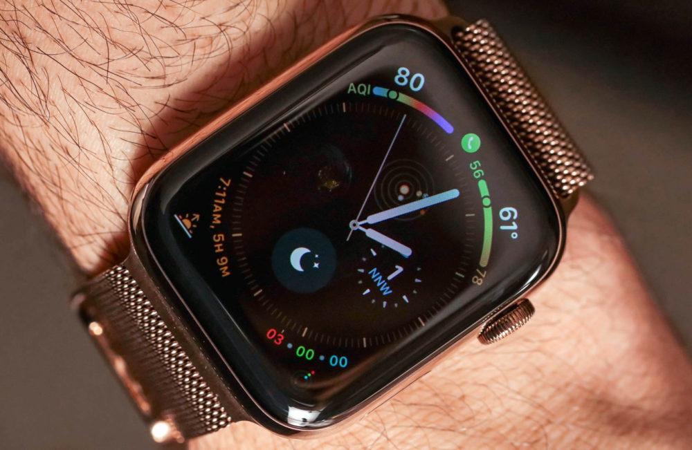 apple watch series 4 1 1000x651 Les ventes dApple Watch ont augmenté de 22% en 2018, grâce à la popularité de la Series 4