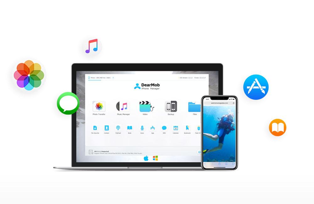 dearmob sauvegarder iphone sans itunes [AirPods à gagner] Comment sauvegarder votre iPhone sans iTunes