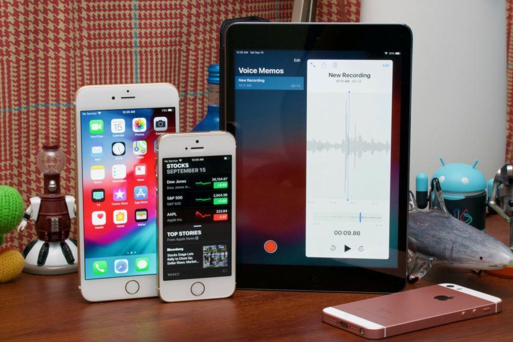 iOS 12 iPhone iPad 1000x667 Apple publie iOS 12.5.1 à destination des anciens iPhone et iPad