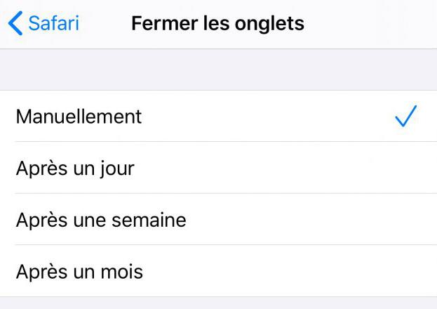 iOS 13 Beta 1 Safari Fermer Onglet Automatiquement Safari sur iOS 13 peut fermer de façon automatique les onglets que vous nutilisez pas
