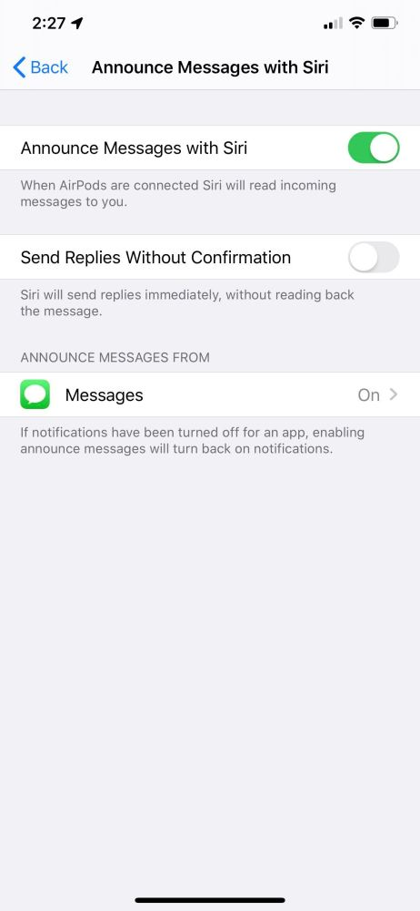 iOS 13 Siri Messages iOS 13 bêta 2 : voici la liste des nouveautés