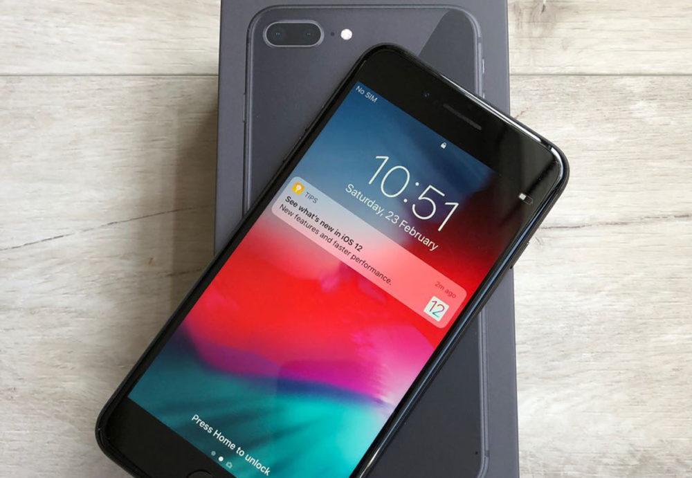 iPhone 8 Plus Space Gray 1000x691 iOS 12.3.2 est disponible et corrige un problème avec le mode Portrait sur liPhone 8 Plus