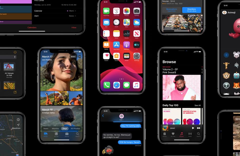 ios13 1 Gros plans sur les nouveautés iOS 13 et iPadOS 13
