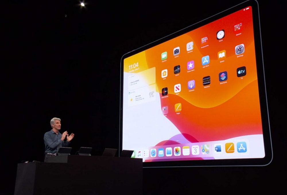 ipados 13 widget WWDC 2019 : iPadOS encore plus proche de macOS