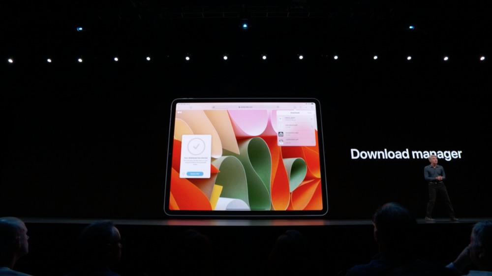 ipados safari Gros plans sur les nouveautés iOS 13 et iPadOS 13