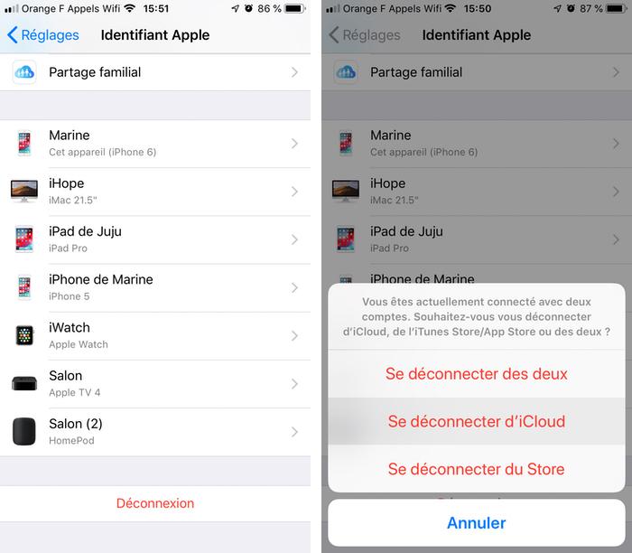 iphone deconnexion icloud Comment télécharger et configurer iCloud sur iPhone