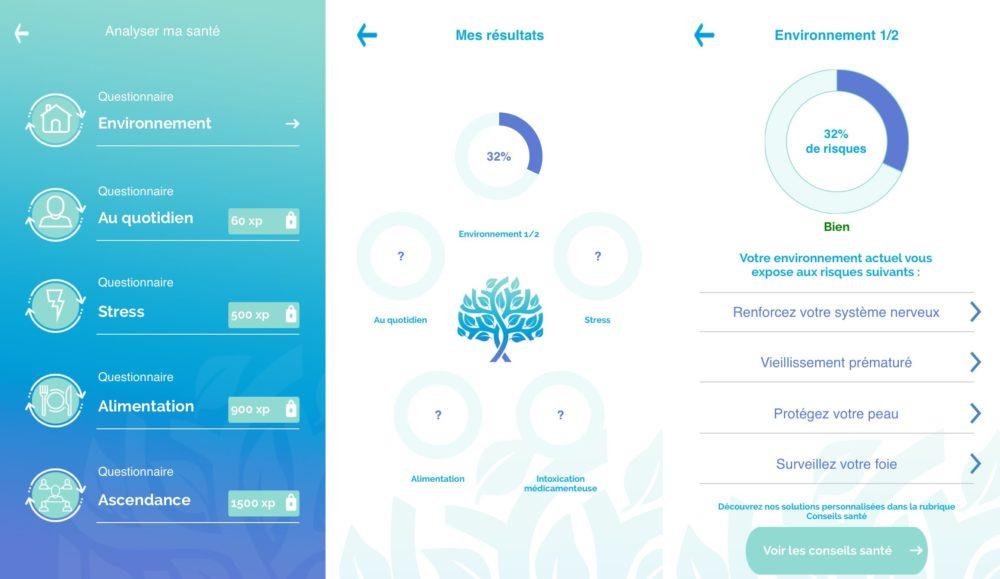 iphone lifextend resultat 1 Life Xtend, l'application qui prévient les risques de santé et améliore votre qualité de vie