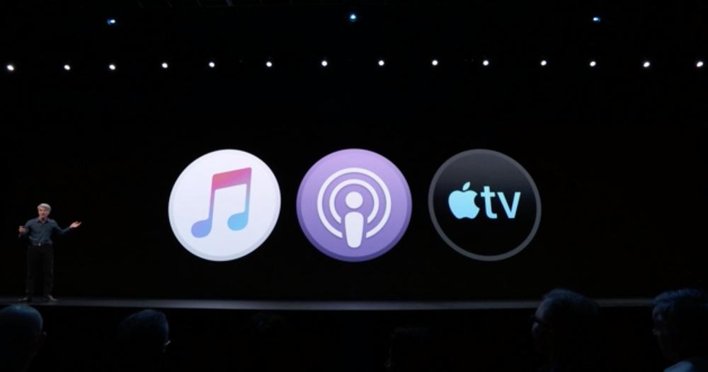 itunes musique podcasts tv macos catalina WWDC 2019 : Apple dévoile macOS Catalina 10.15 et la fin diTunes