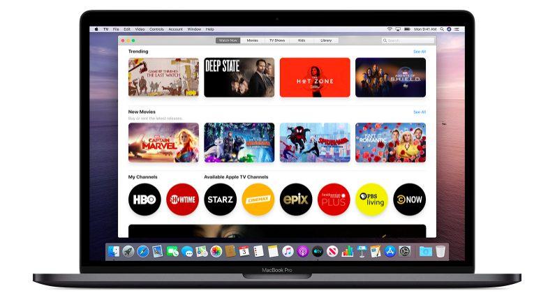 macOS Catalina App TV Apple donne une explication concernant les modifications à venir avec iTunes sur macOS Catalina
