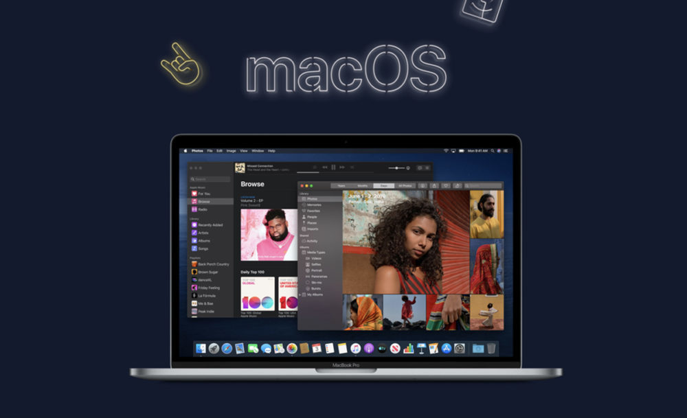 macOS Catalina beta 1000x609 Apple donne une explication concernant les modifications à venir avec iTunes sur macOS Catalina