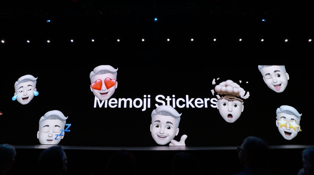 memoji stickers 1 WWDC 2019 : iOS 13 avec le mode sombre et plus encore