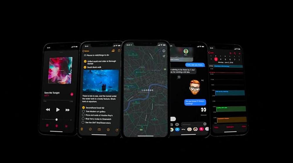 mode sombre ios 13 WWDC 2019 : iOS 13 avec le mode sombre et plus encore