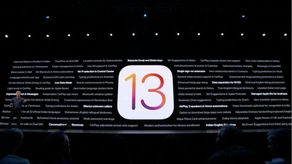 nouveautes ios13 Dates de sortie d'iOS 13, iPad OS et leurs bêtas