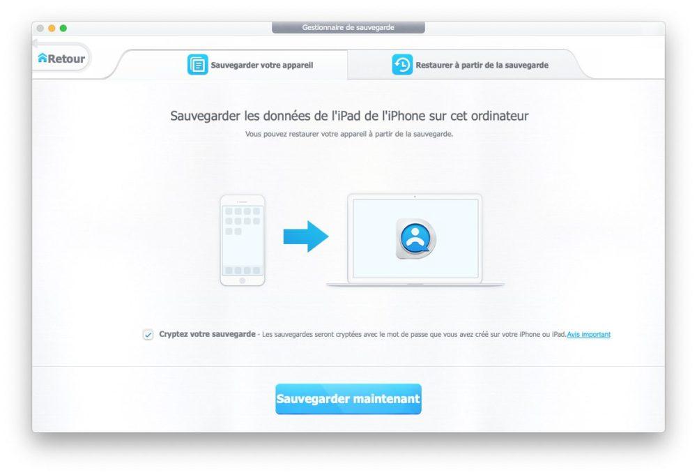 sauvegarder dearmob iphone manager [AirPods à gagner] Comment sauvegarder votre iPhone sans iTunes