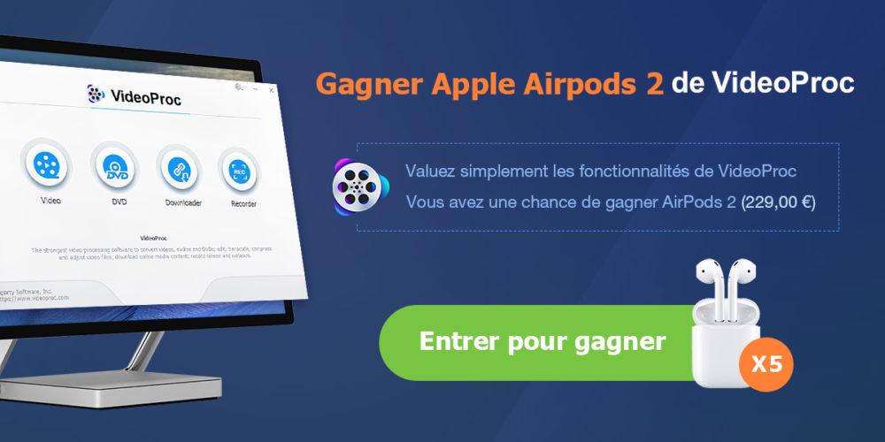 videoproc airpods [AirPods à gagner] Comment sauvegarder votre iPhone sans iTunes