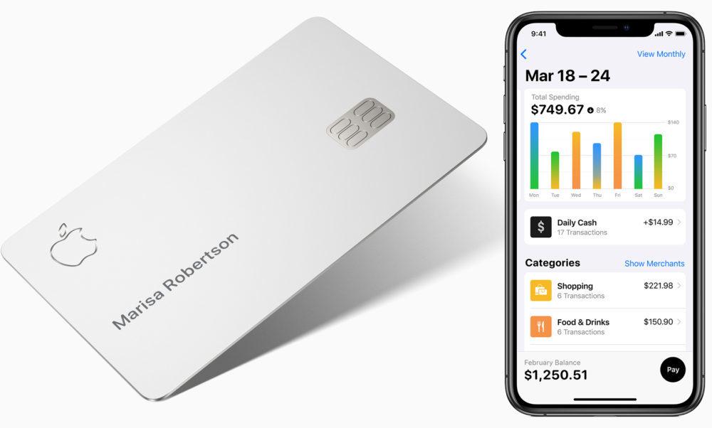 Apple Card iPhone 1000x602 Apple Card : Apple partage des vidéos pour expliquer son fonctionnement