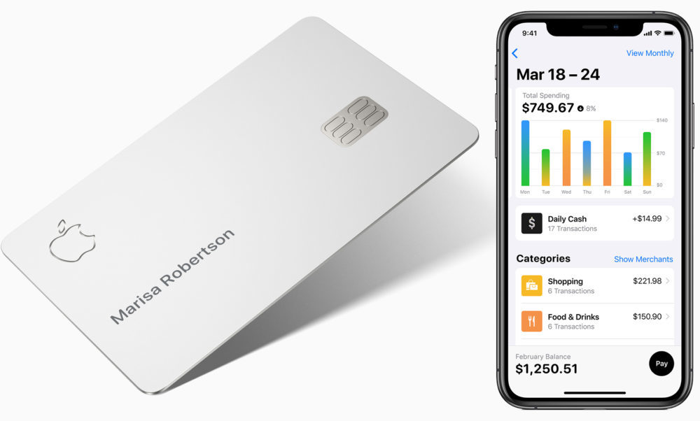Apple Card iPhone 1000x602 Apple Card : Apple lance un site pour gérer son solde, payer ses factures, consulter ses relevés...