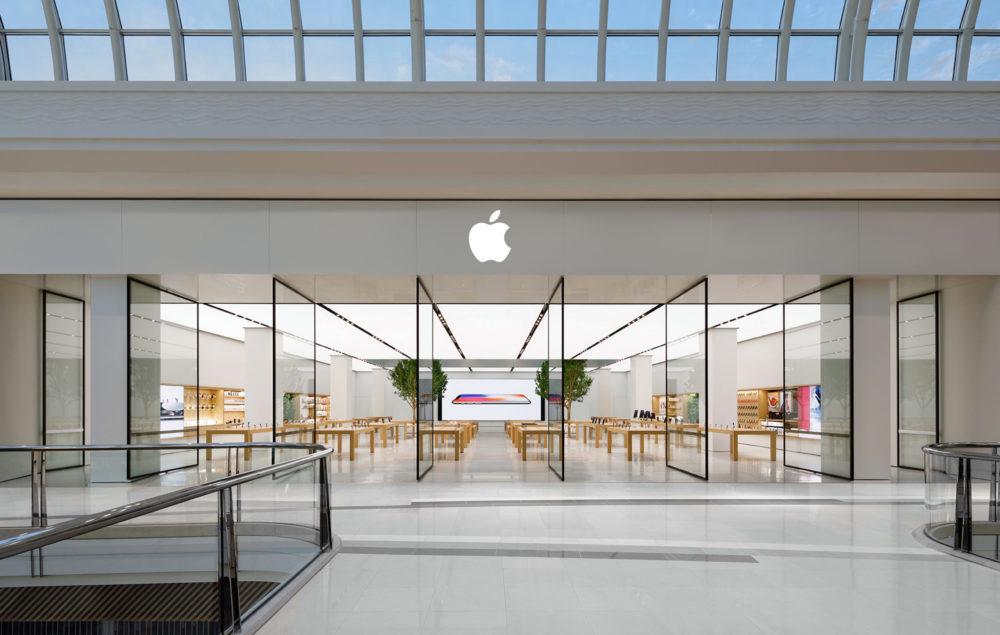 Apple Store iPhone X 1000x635 La réouverture des Apple Store en Suisse se fera aujourdhui (12 mai 2020)