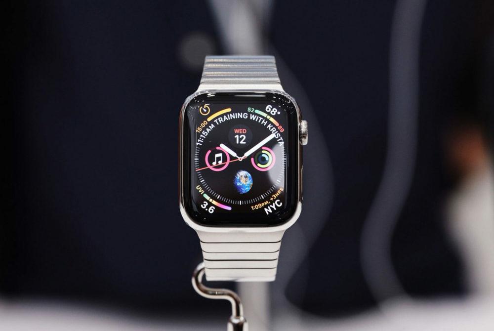 Apple Watch 4 1000x670 LApple Watch domine sans cesse les ventes de montres connectées