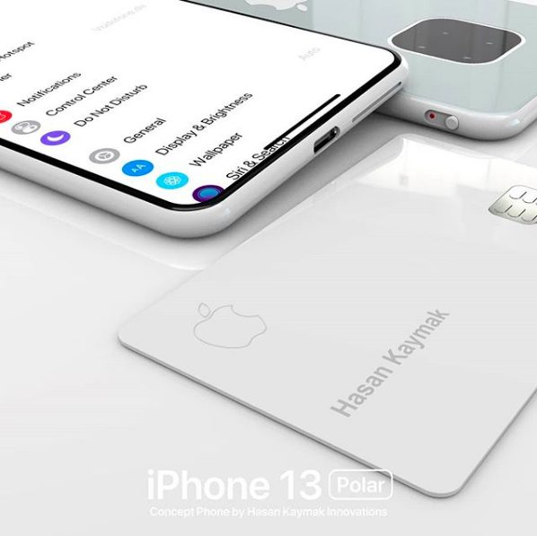 Concept iPhone 13 Polar 2 iPhone 13 « Polar » : un concept imagine déjà (!) liPhone 13