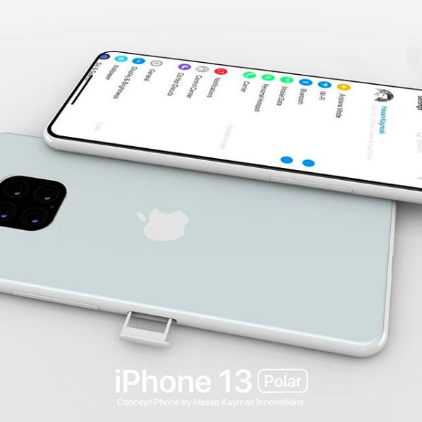 Concept iPhone 13 Polar 6 iPhone 13 « Polar » : un concept imagine déjà (!) liPhone 13